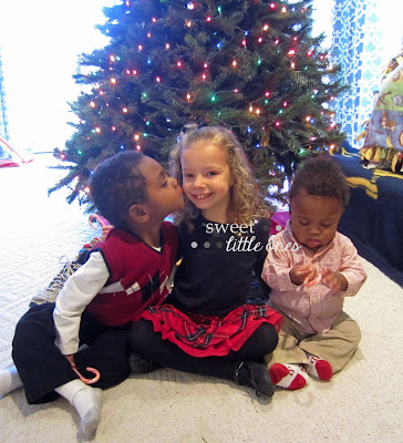 Christmas Blessings: God's Adoption Gifts to Our Family.  We have had several beautiful (and even sad) adoption moments happen for each of our children right at Christmastime... www.sweetlittleonesblog.com