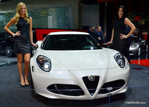 Alfa Romeo 4C at the New York Auto Show