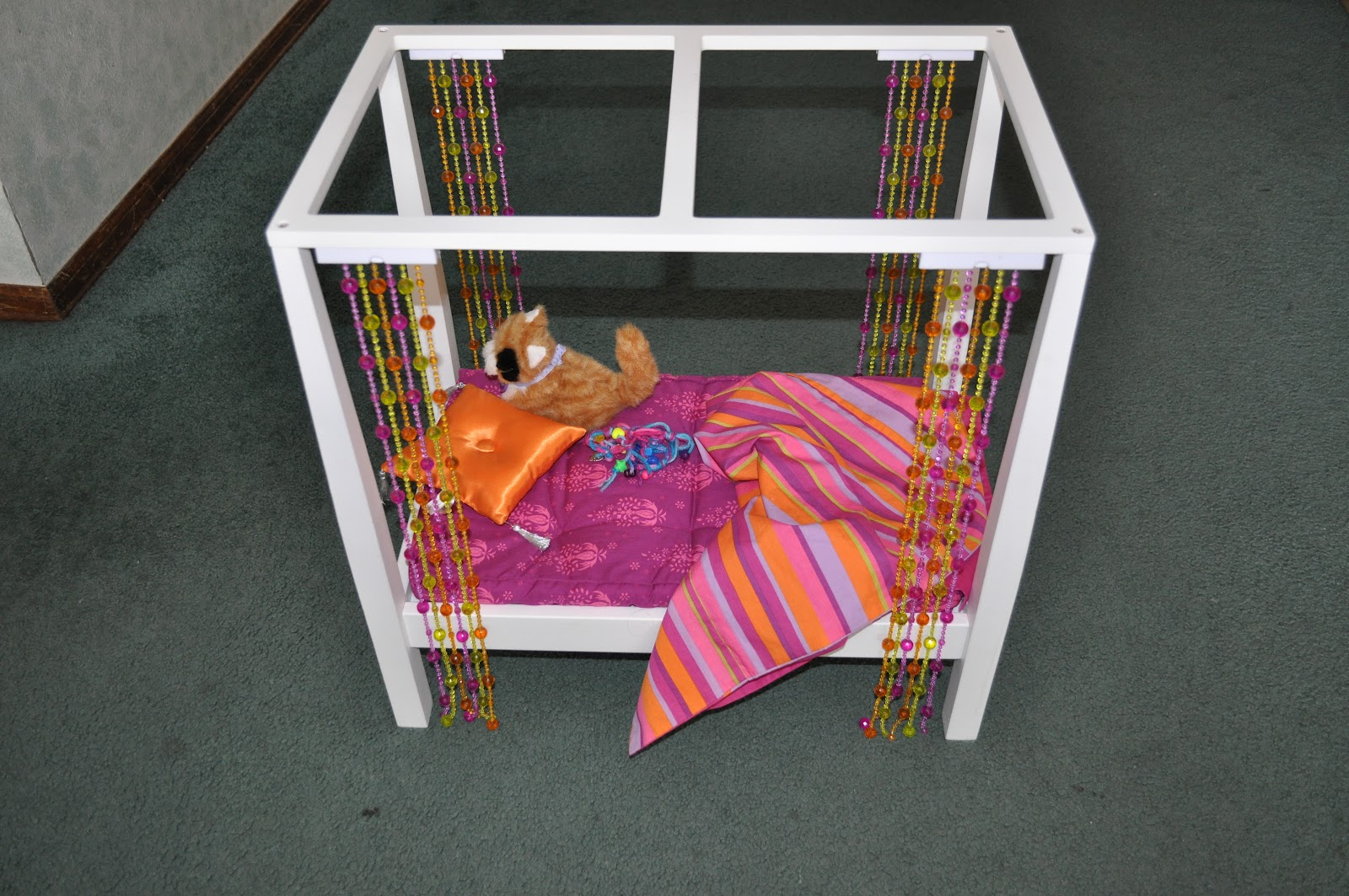Out of Focus for now...: Donations: Day 6 ~ American Girl Doll Bed