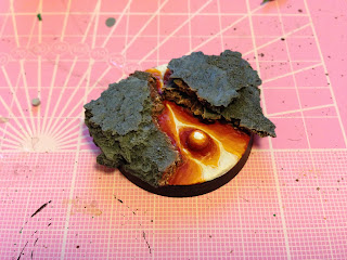 The Hairy Painter: How to do a Lava Scenic Base