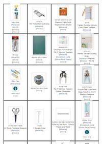 רשימת המוצרים שאני משתמשת בהם