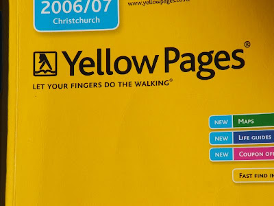 New Zealand Yellow pages