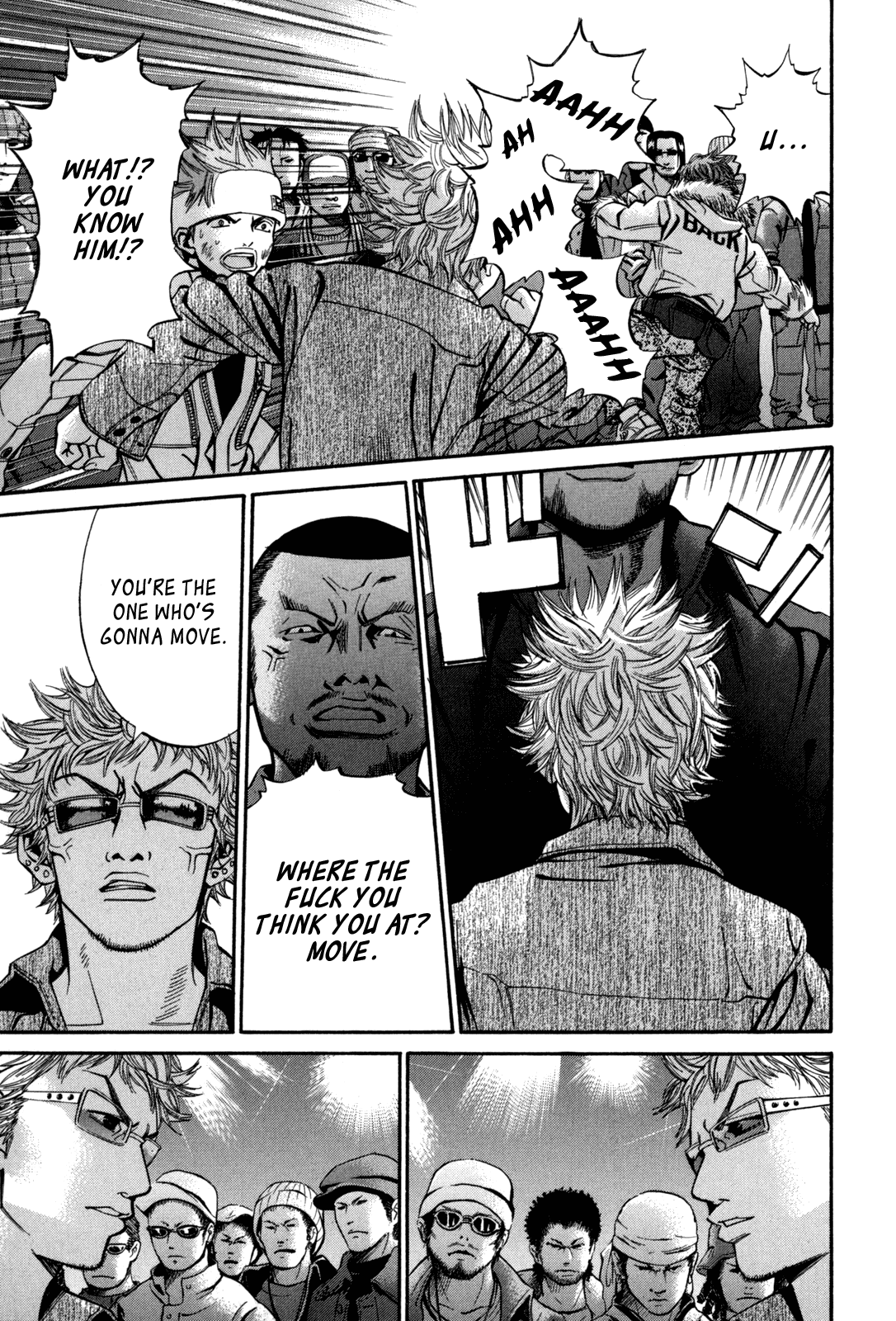 Saru Lock - Chapter 14