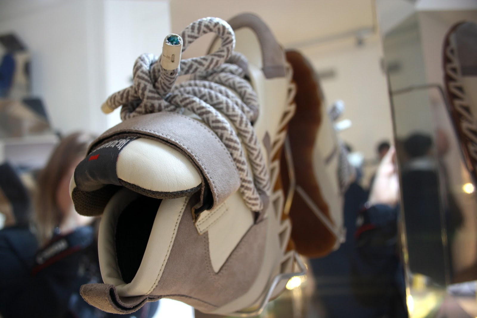 Amazing Sneaker Created Bernhard Willhelm For Camper