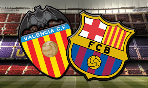Valencia vs FCB Barcelona Match