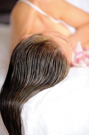 Hair Care Treatment : tbsp. olive oil 1/2 cup apple cider vinegar 2 shower caps or a hot ...