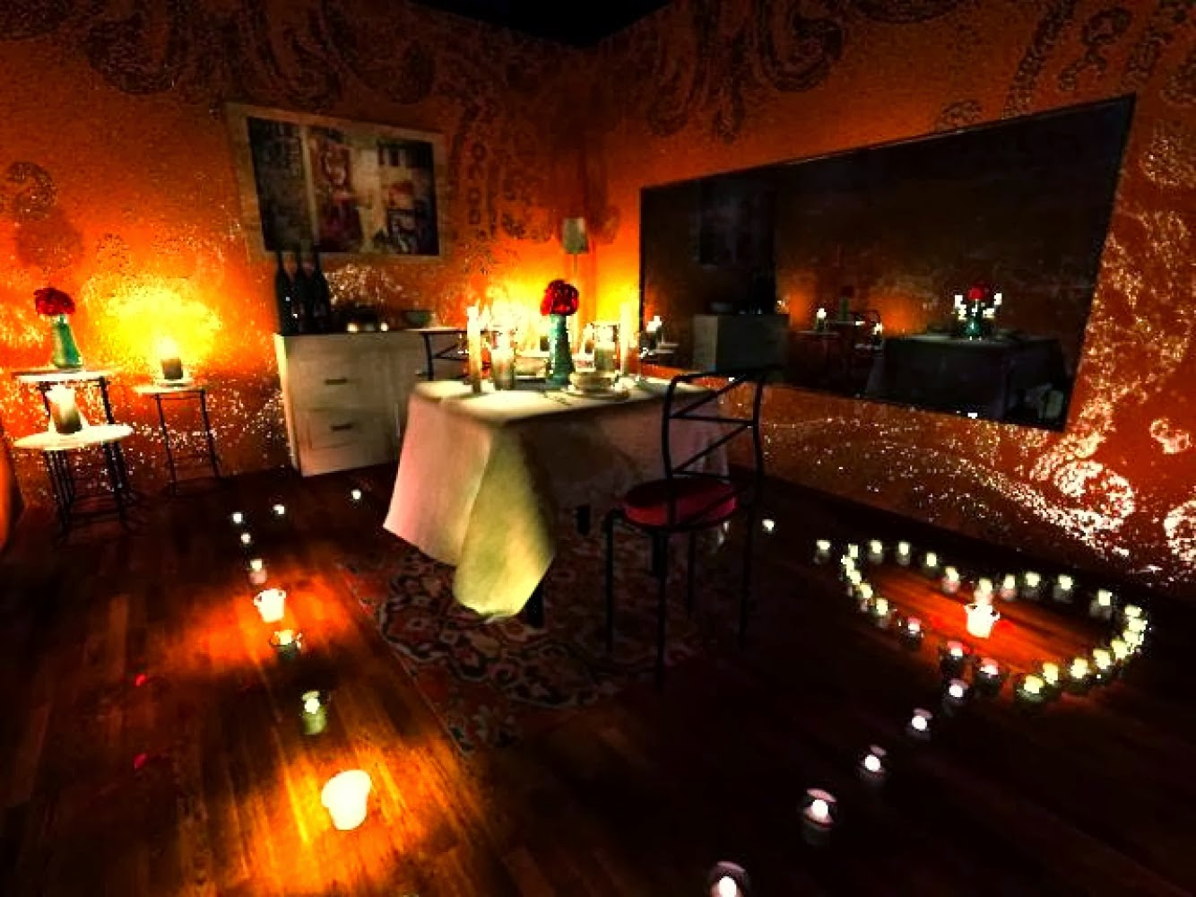 Home Cooked Meal Candle Light Dinner Romantic Dinner