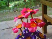 Kerajinan Tangan dari Limbah Anorganik (Bunga dari Sedotan Plastik)