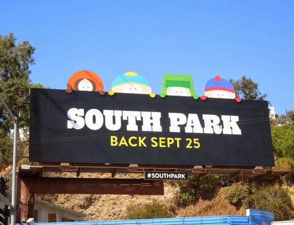 South Park season 17 billboard