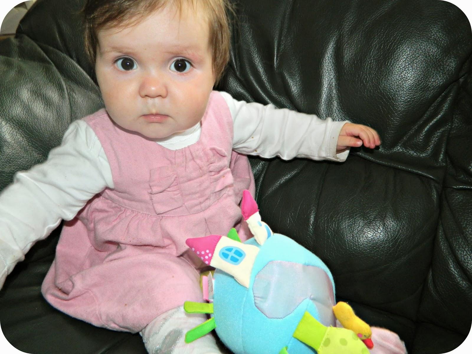 Little Miss at nine months