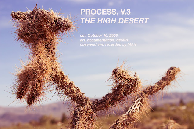 Process, V.3, The High Desert