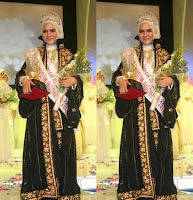 Dika Restiyani The Winner of Muslimah Beauty 2011