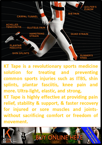KT Tape for athletes