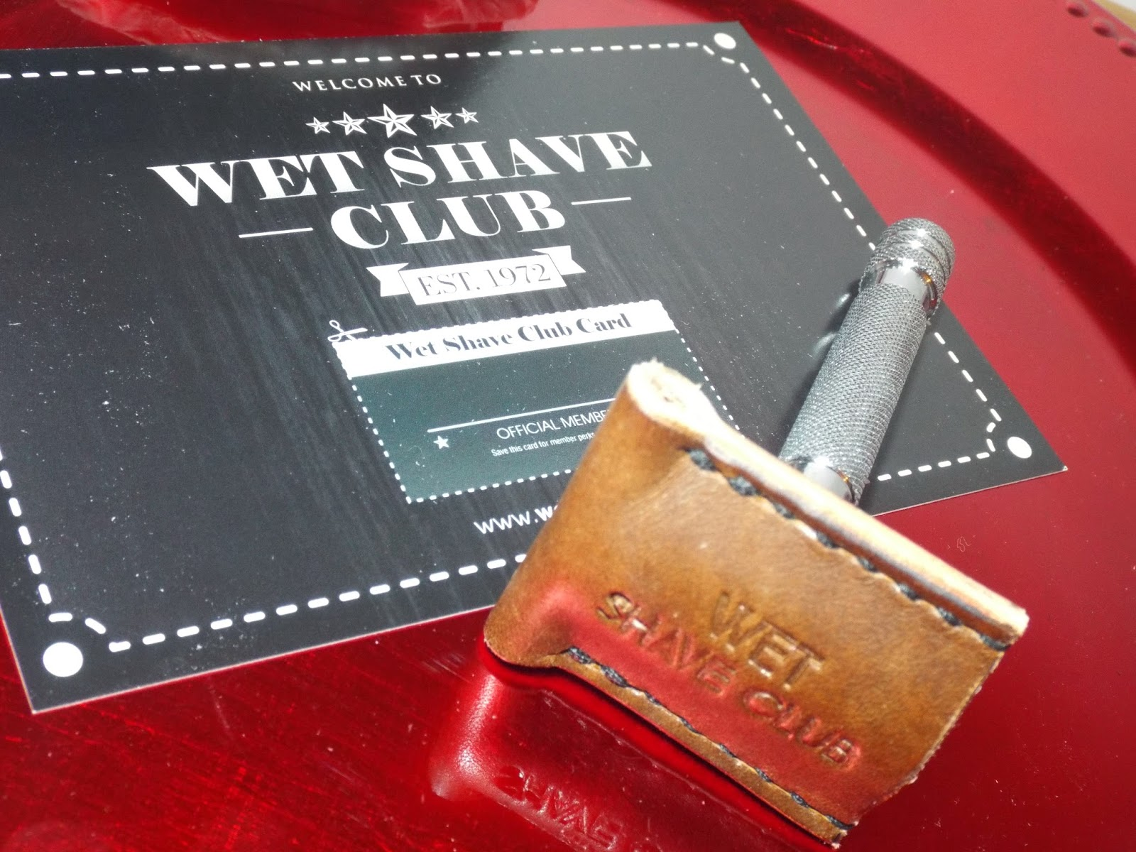 Wet Shave Club Leather Cover
