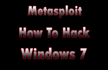 hack windows 7 with msfconsole