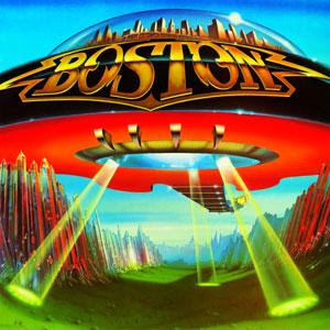 Boston Don't Look Back album cover