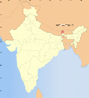 Sikkim-map