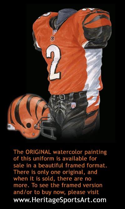 8e57c9da5 Cincinnati Bengals Uniform and Team History