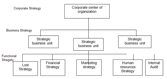 Expert Researcher Strategic Management Levels Of Strategy