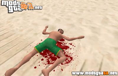 SA - Mod Sangue Super Realista + Animação de Morte