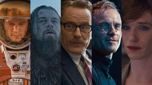 Los nominados a Mejor Actor en los Oscar 2016