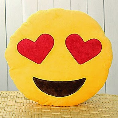 Peluche Emoticon Enamorado