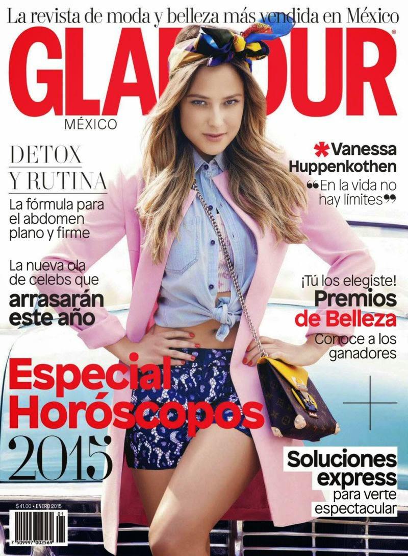 Vanessa Huppenkothen - Glamour Mexico, January 2015