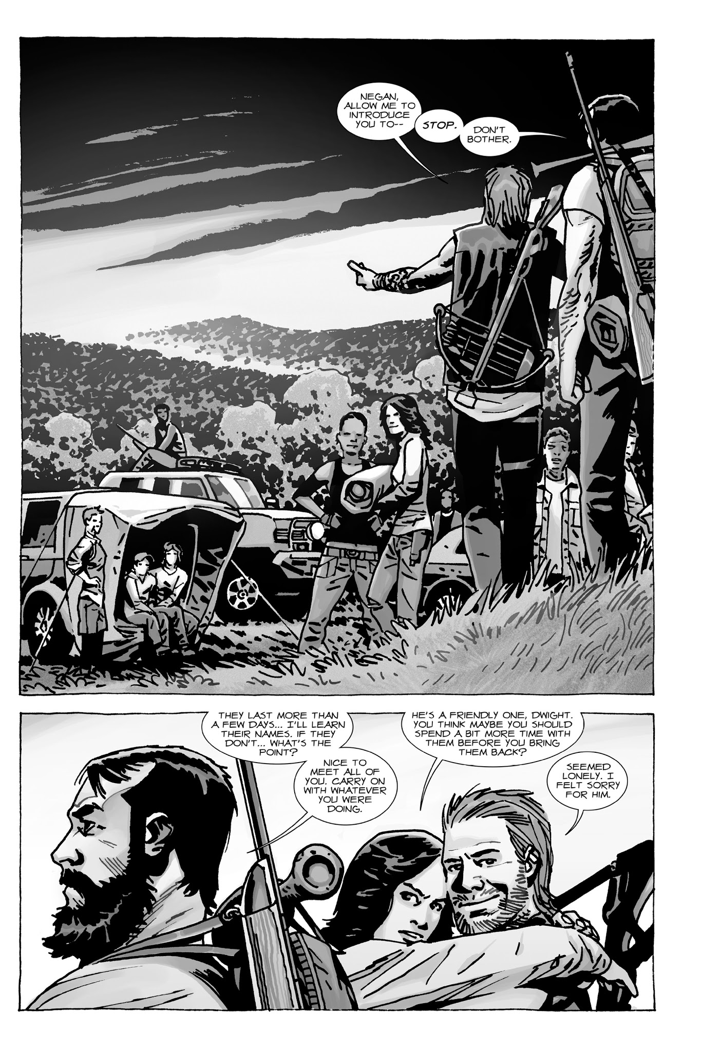 The Walking Dead : Here's Negan - Chapter # | pic 46