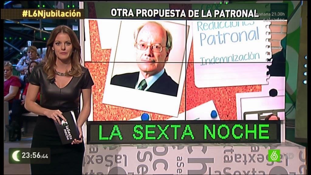 ANDREA ROPERO, LA SEXTA NOCHE (26.10.13)