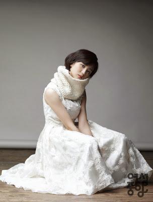 Park Ha Sun - Woman Chosun Magazine January Issue 2014