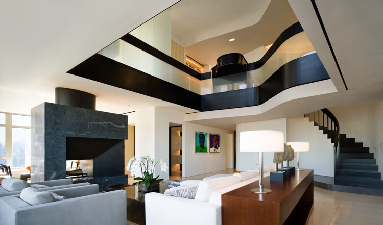 World of architecture central park west penthouse duplex for Penthouses manhattan for sale