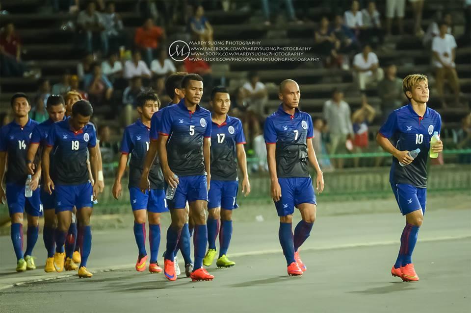 Cambodian footballer-Asia FIFA World Cup