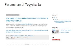 Perumahan di Yogyakarta
