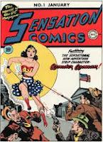 Sensation Comics #1 comic cover