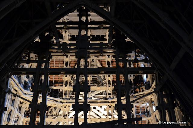 Reims - cathédrale - charpente beton armé
