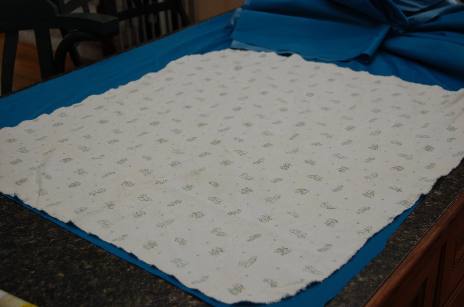 Flannel Waterproof Mattress Protector Then get your absorbant material (I used Zorb) & lay your blanket on ...