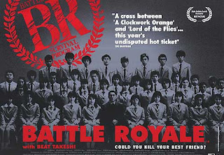 Battle Royale Promo Movie Poster