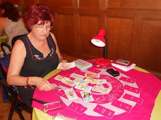 Maria Luisa Martin. Tirada del Tarot. Salón Esoterismo Donostia 2012