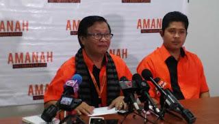 Amanah tidak terima dana DAP