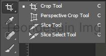 Penggunaan croop tool 1