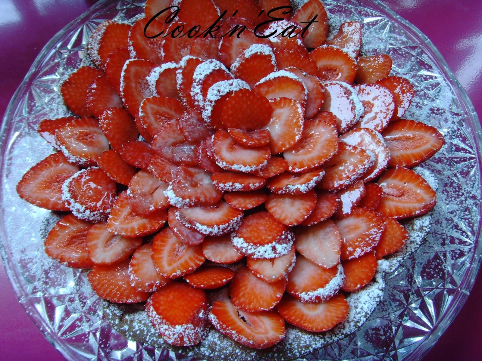Recette de tarte aux fraises et chocolat blogs de cuisine - Recette tarte aux chocolat ...