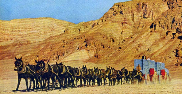 Dizzy 39 s wanderings wonderings wondering about death valley days for 20 mule team borax swimming pools