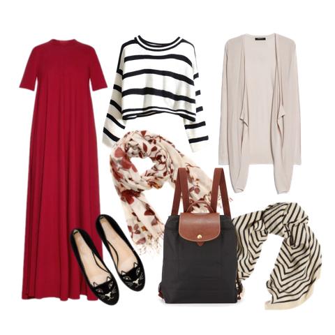 pregnancy style, baju hamil modis
