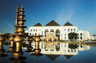 Masjid Agung Palembang - Pariwisata Palembang Indonesia