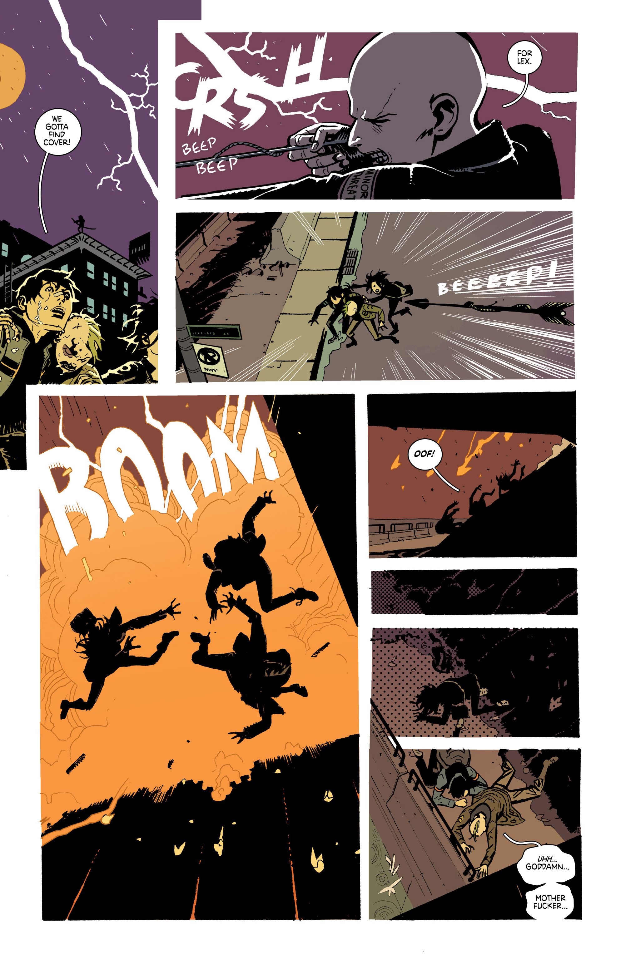 Read online Deadly Class comic -  Issue #19 - 19