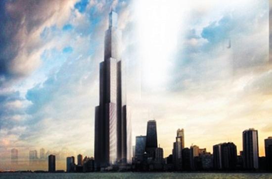 bangunan tertinggi di dunia di china
