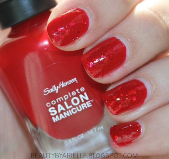 Sally Hansen Complete Salon Manicure Red My Lips