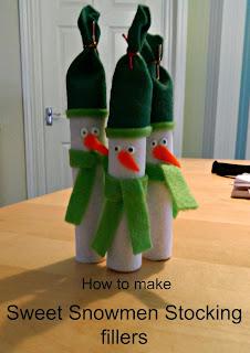 Sweet Snowmen Stocking Fillers