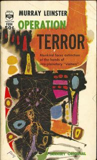Cover of the novel Operation Terror by Murray Leinster