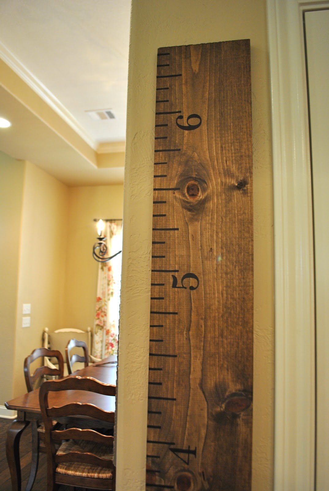 That Village House Diy Growth Chart